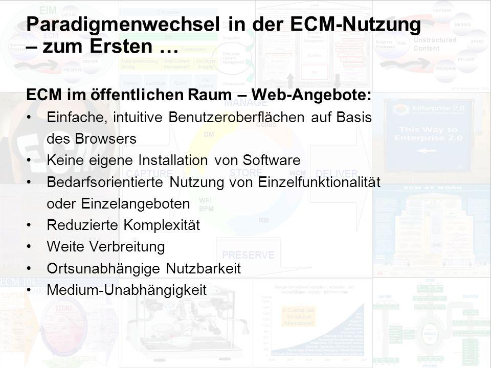 38 EIM Update und Trends 2010 Dr. Ulrich Kampffmeyer PROJECT CONSULT Unternehmensberatung Dr.