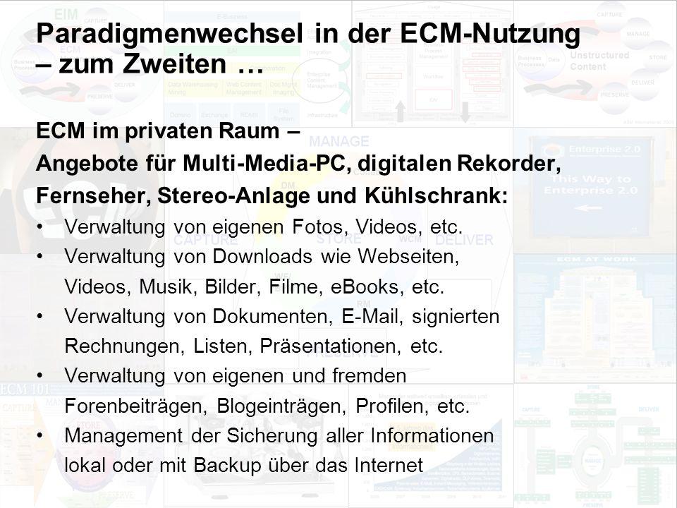 39 EIM Update und Trends 2010 Dr. Ulrich Kampffmeyer PROJECT CONSULT Unternehmensberatung Dr.