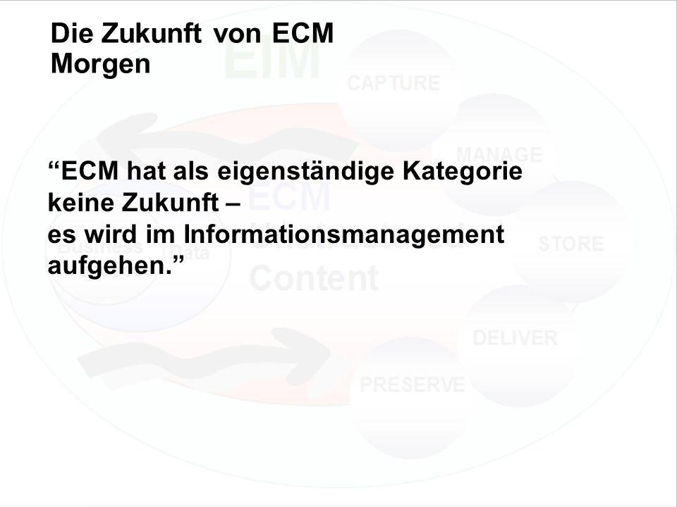 43 EIM Update und Trends 2010 Dr. Ulrich Kampffmeyer PROJECT CONSULT Unternehmensberatung Dr.