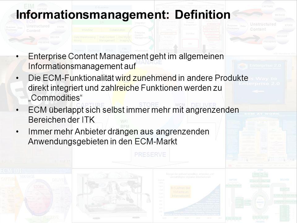 46 EIM Update und Trends 2010 Dr. Ulrich Kampffmeyer PROJECT CONSULT Unternehmensberatung Dr.