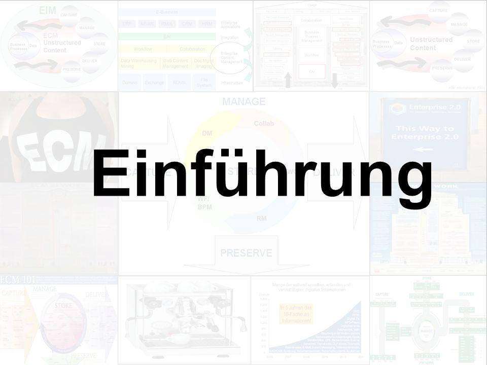 5 EIM Update und Trends 2010 Dr. Ulrich Kampffmeyer PROJECT CONSULT Unternehmensberatung Dr.