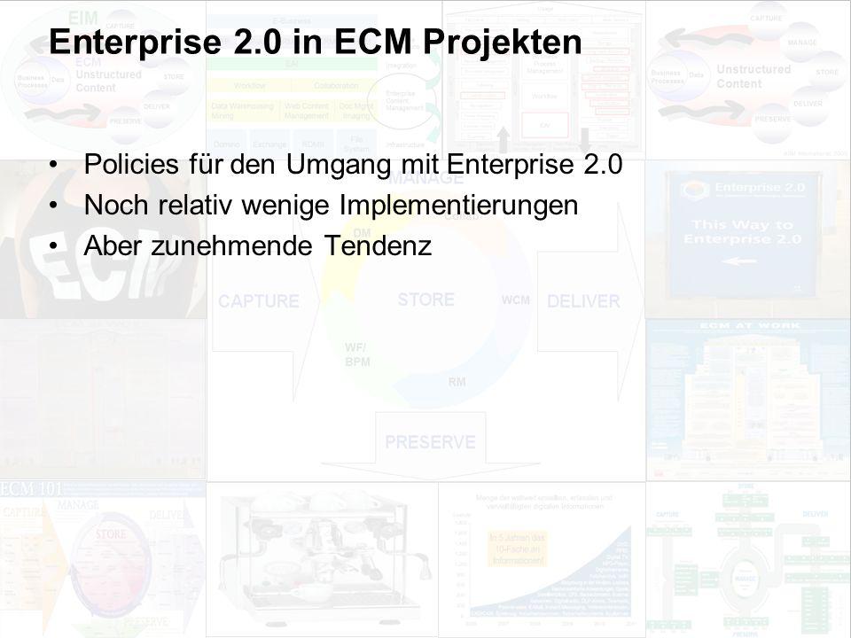 56 EIM Update und Trends 2010 Dr. Ulrich Kampffmeyer PROJECT CONSULT Unternehmensberatung Dr.