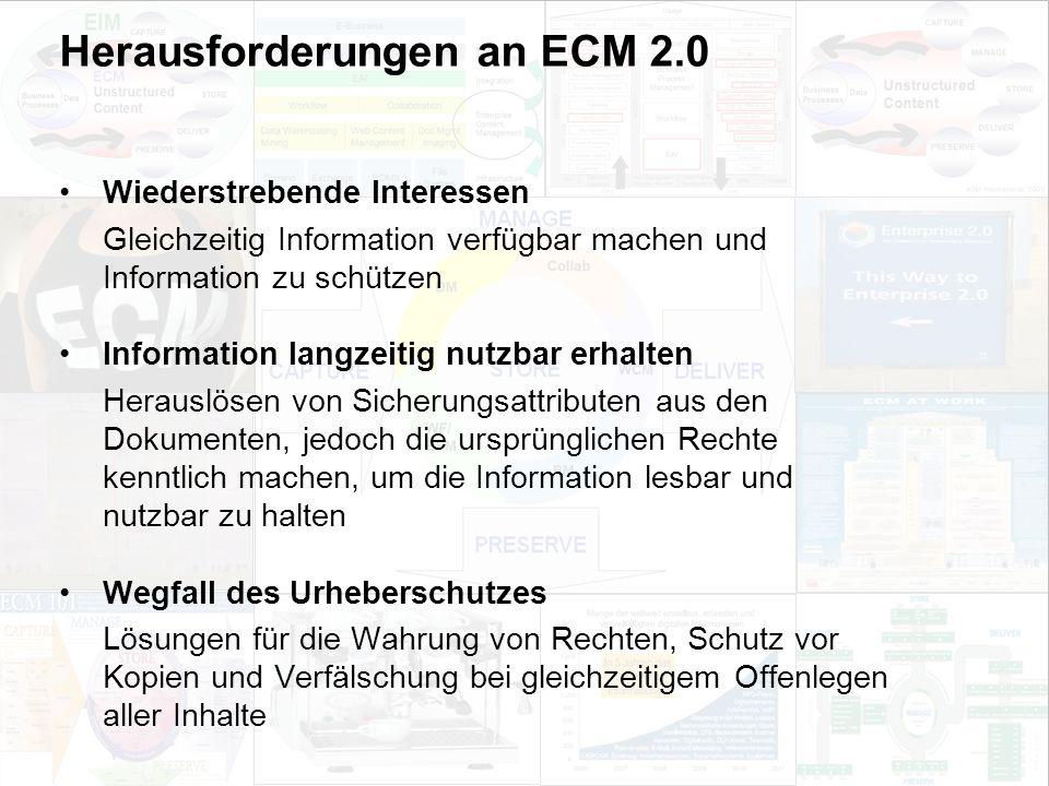 57 EIM Update und Trends 2010 Dr. Ulrich Kampffmeyer PROJECT CONSULT Unternehmensberatung Dr.