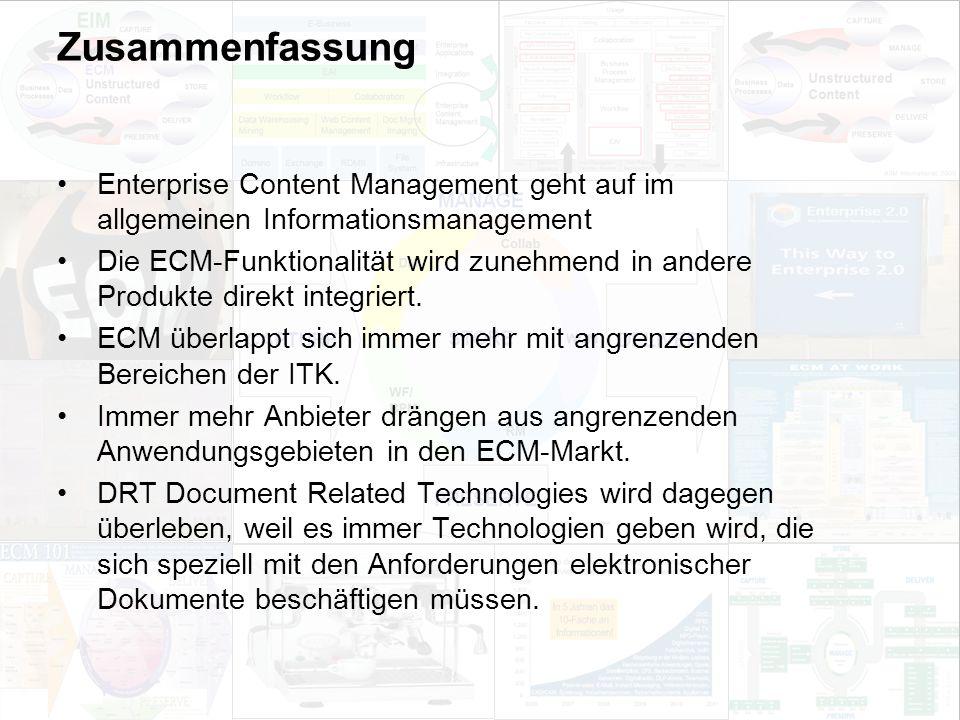 59 EIM Update und Trends 2010 Dr. Ulrich Kampffmeyer PROJECT CONSULT Unternehmensberatung Dr.