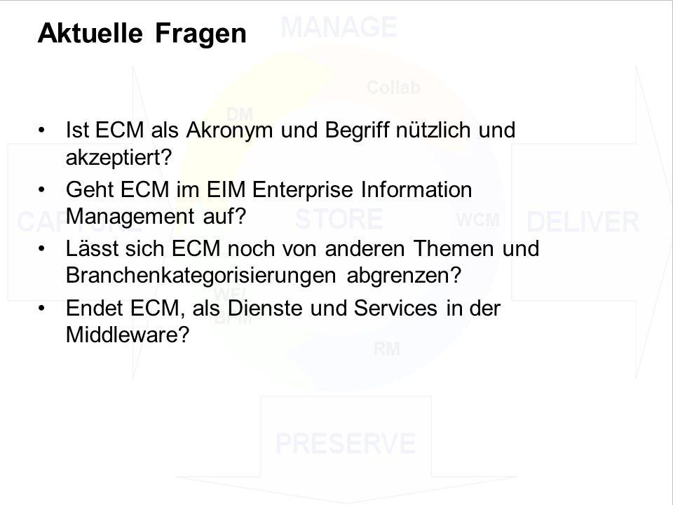 27 EIM Update und Trends 2010 Dr.Ulrich Kampffmeyer PROJECT CONSULT Unternehmensberatung Dr.