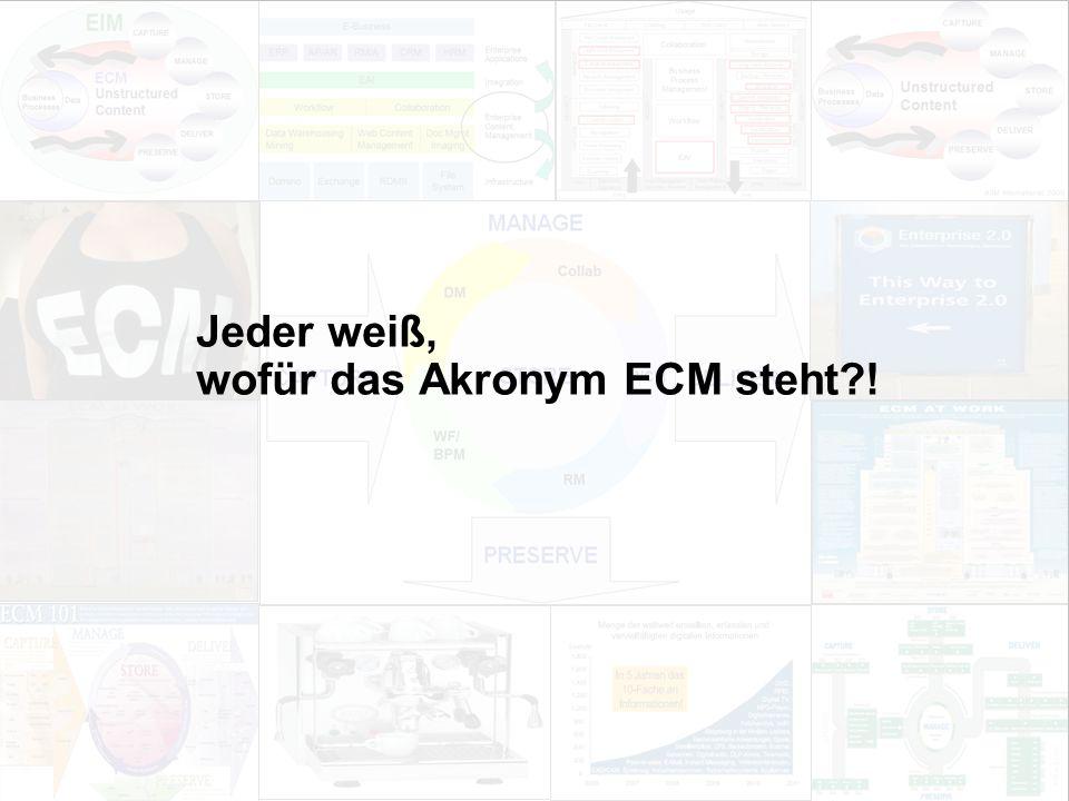38 EIM Update und Trends 2010 Dr.Ulrich Kampffmeyer PROJECT CONSULT Unternehmensberatung Dr.