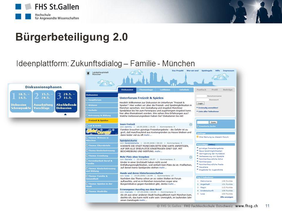 11 Ideenplattform: Zukunftsdialog – Familie - München