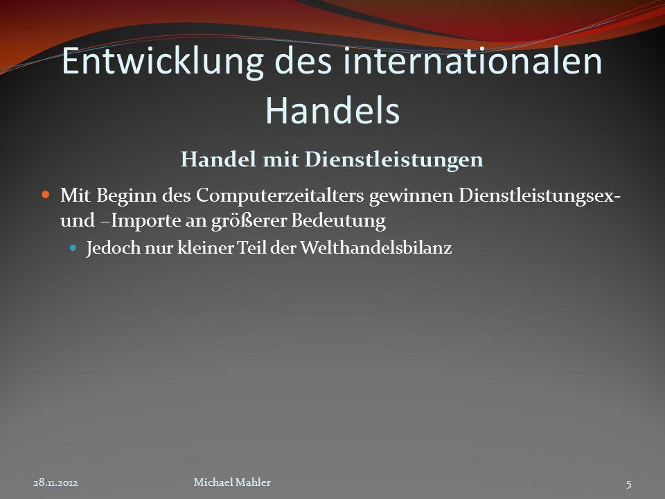 Was ist Globalisierung.