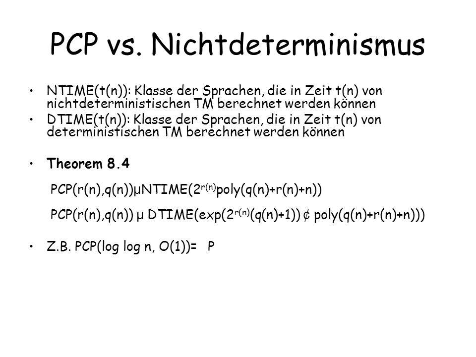 PCP vs.