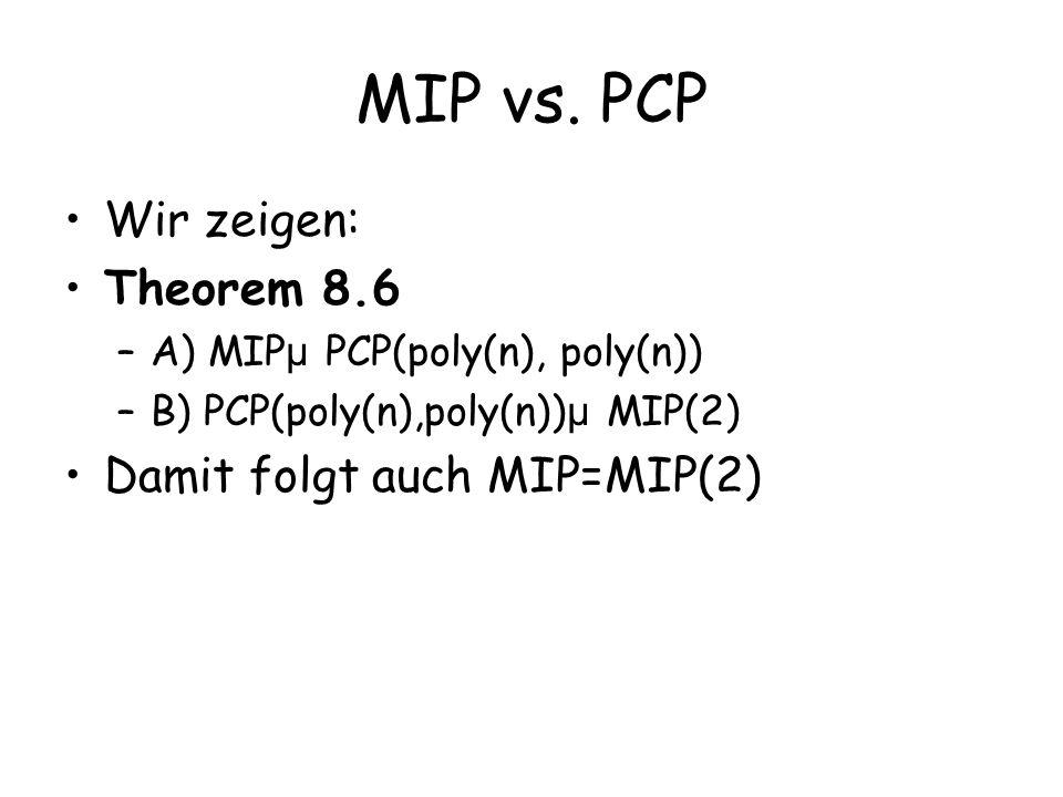 MIP vs.