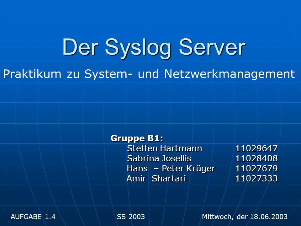 Gruppe B1: Gruppe B1: Steffen Hartmann 11029647 Sabrina Josellis 11028408 Hans – Peter Krüger 11027679 Amir Shartari 11027333 Amir Shartari 11027333 P
