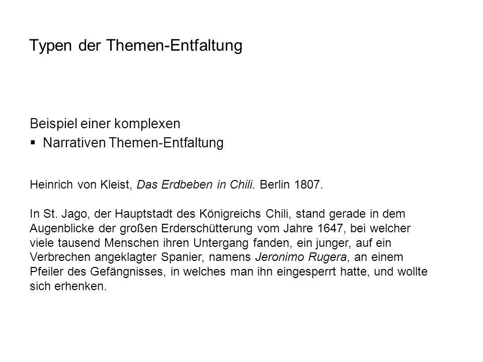 Heinrich von Kleist, Das Erdbeben in Chili. Berlin 1807. In St. Jago, der Hauptstadt des Königreichs Chili, stand gerade in dem Augenblicke der großen