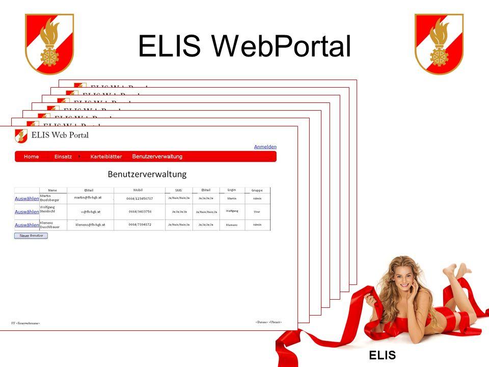 ELIS ELIS WebPortal