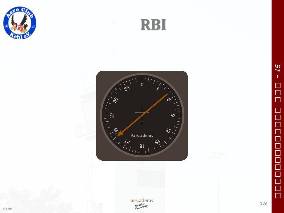 V3.00 91 – VFR Communication RBI 109