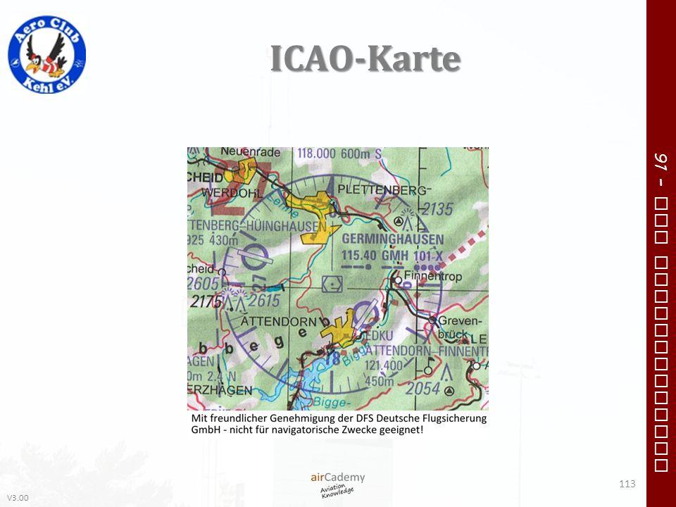 V3.00 91 – VFR Communication ICAO-Karte 113