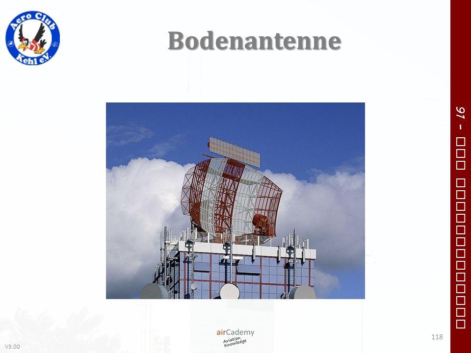 V3.00 91 – VFR Communication Bodenantenne 118