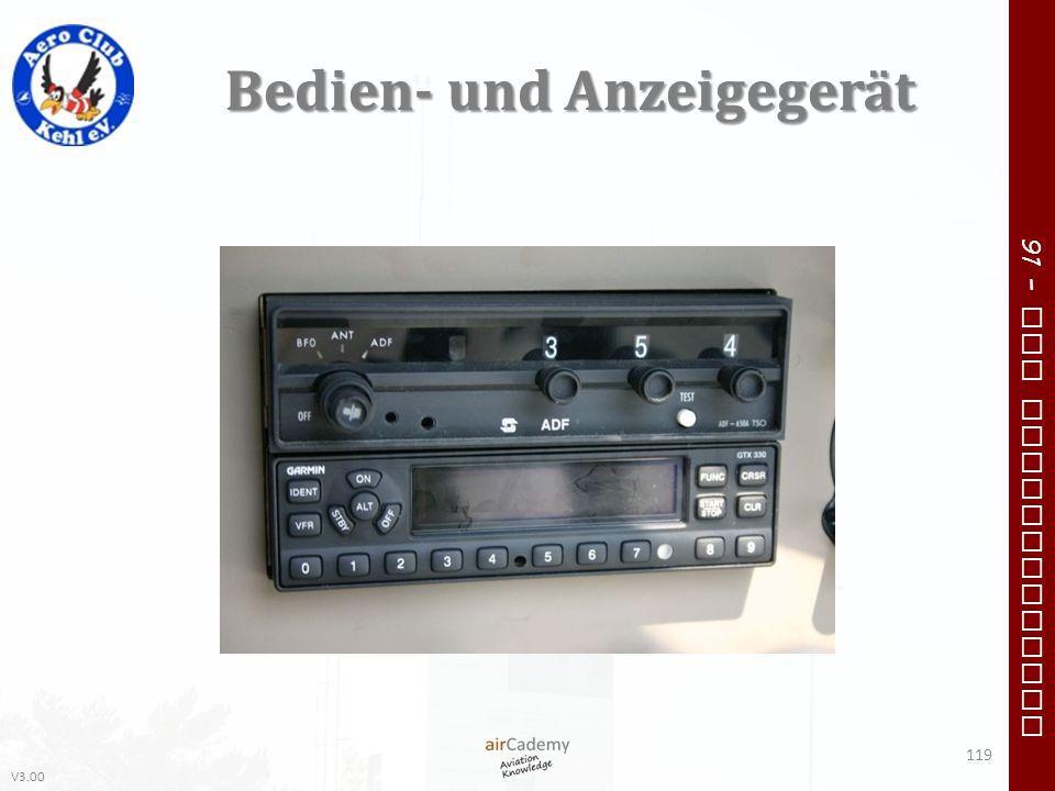 V3.00 91 – VFR Communication Bedien- und Anzeigegerät 119