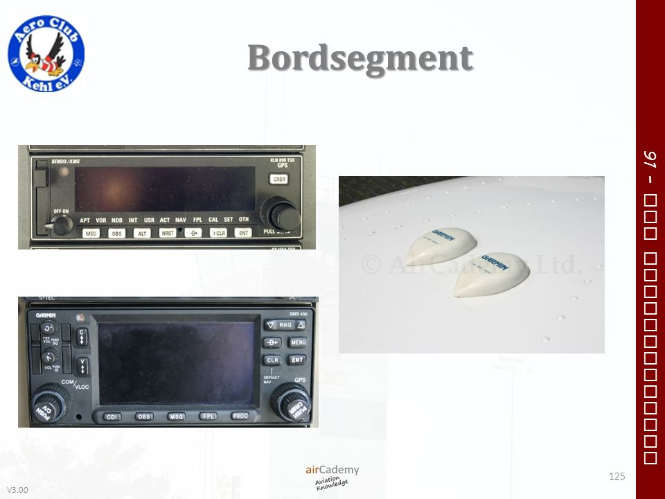 V3.00 91 – VFR Communication Bordsegment 125