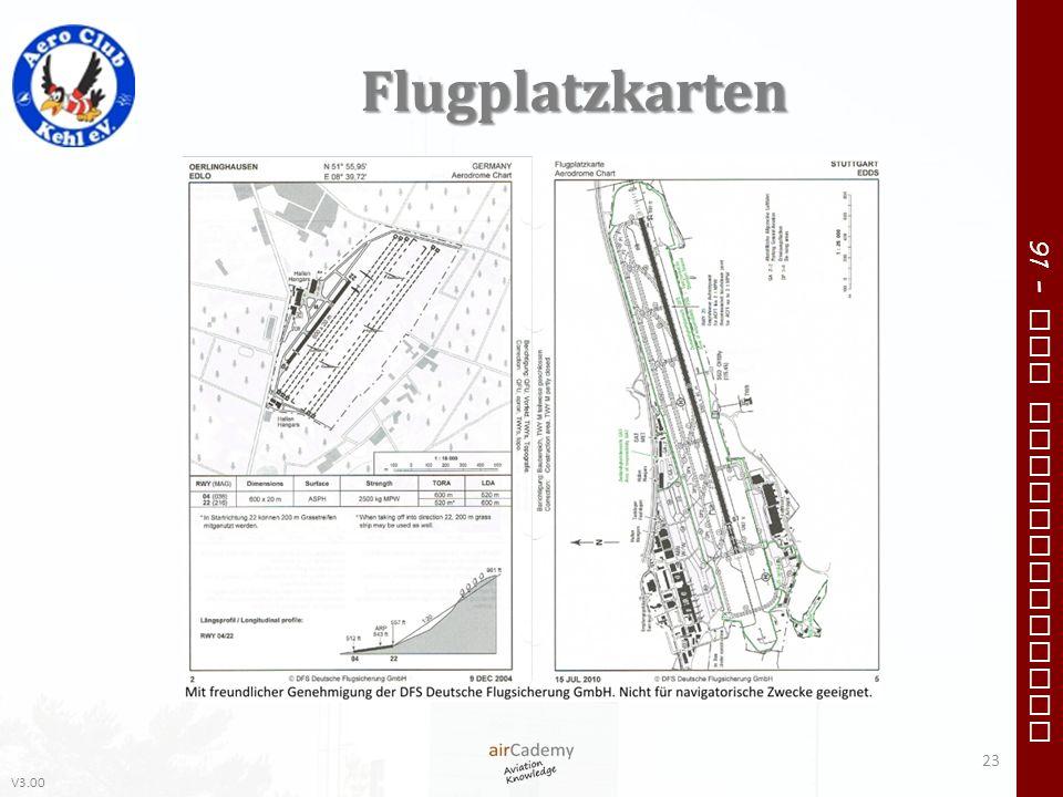 V3.00 91 – VFR Communication Flugplatzkarten 23