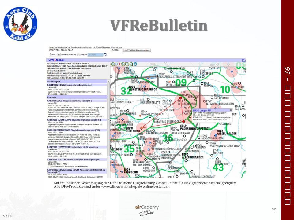 V3.00 91 – VFR Communication VFReBulletin 25