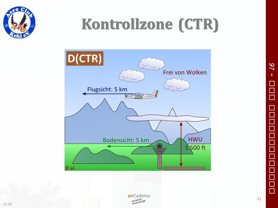 V3.00 91 – VFR Communication Kontrollzone (CTR) 41