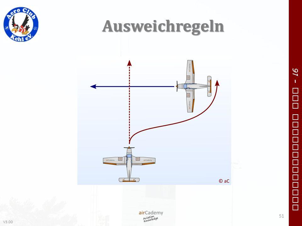 V3.00 91 – VFR Communication Ausweichregeln 51