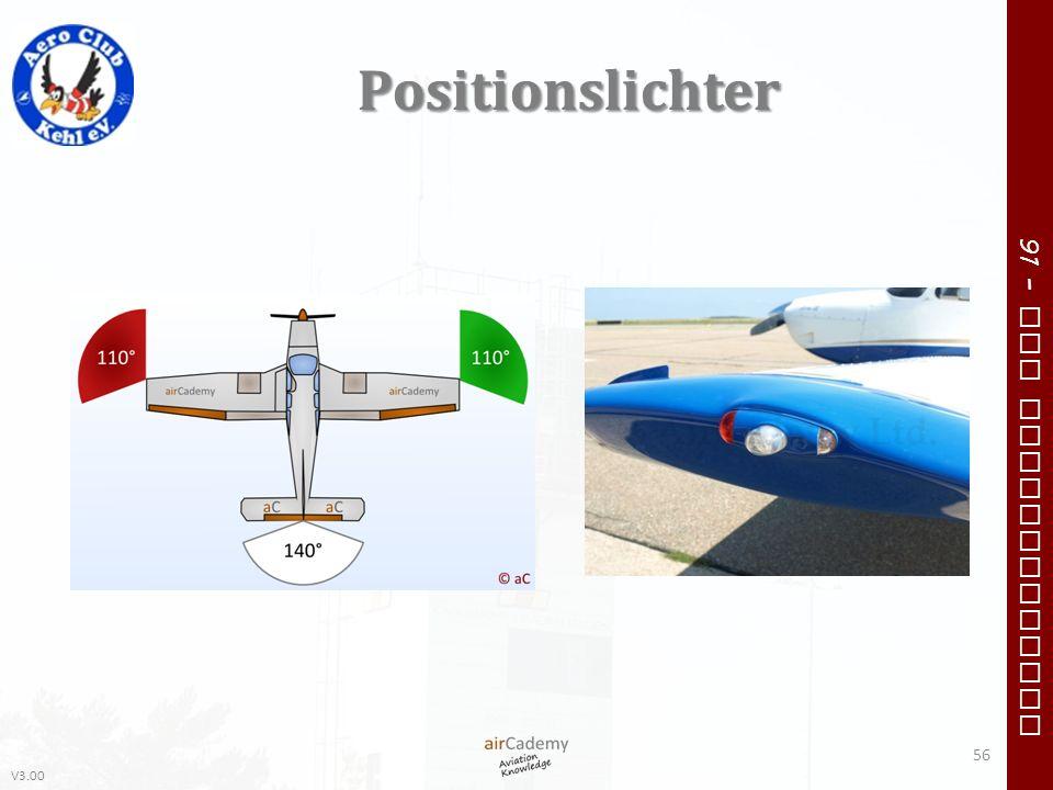 V3.00 91 – VFR Communication Positionslichter 56