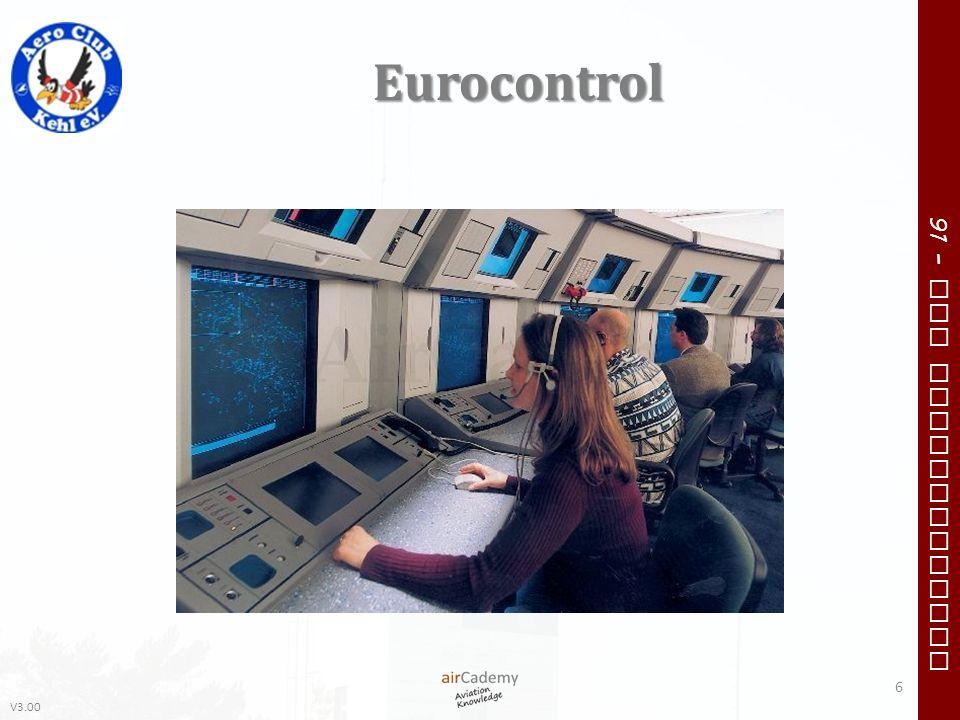 V3.00 91 – VFR Communication Eurocontrol 6