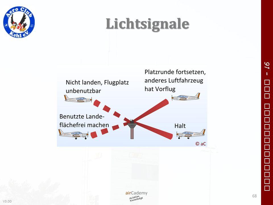 V3.00 91 – VFR Communication Lichtsignale 68