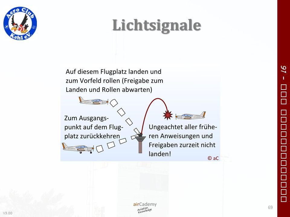 V3.00 91 – VFR Communication Lichtsignale 69
