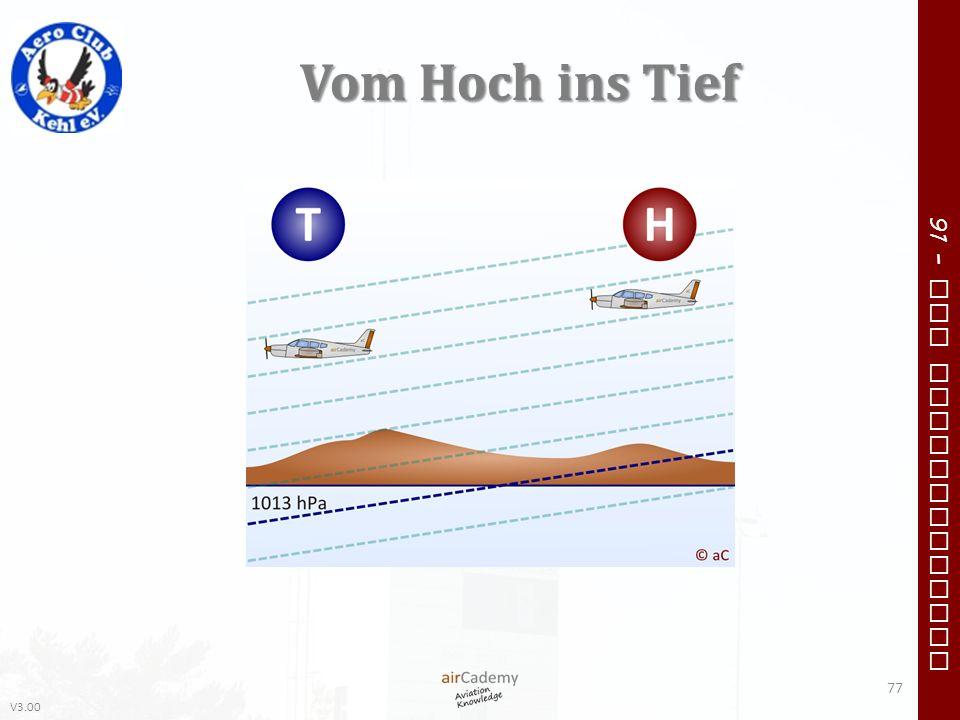 V3.00 91 – VFR Communication Vom Hoch ins Tief 77