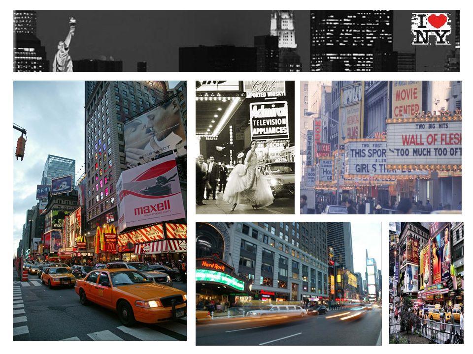 Auch die amerikanische Technologiebörse NASDAQ ist in der Nachbarschaft des Times Squares beheimatet.