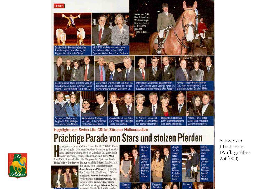 Schweizer Illustrierte (Auflage über 250´000)
