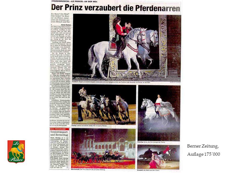 Berner Zeitung, Auflage 175´000