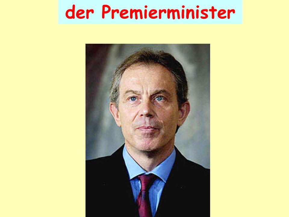 der Premierminister