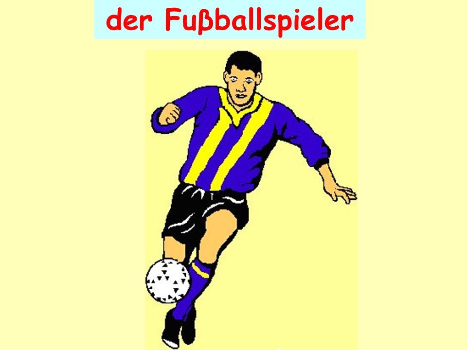 der Fuβballspieler