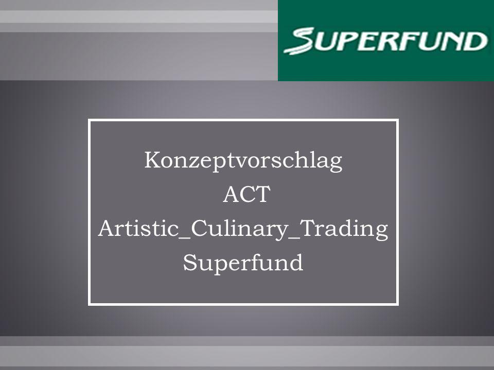 Konzeptvorschlag ACT Artistic_Culinary_Trading Superfund
