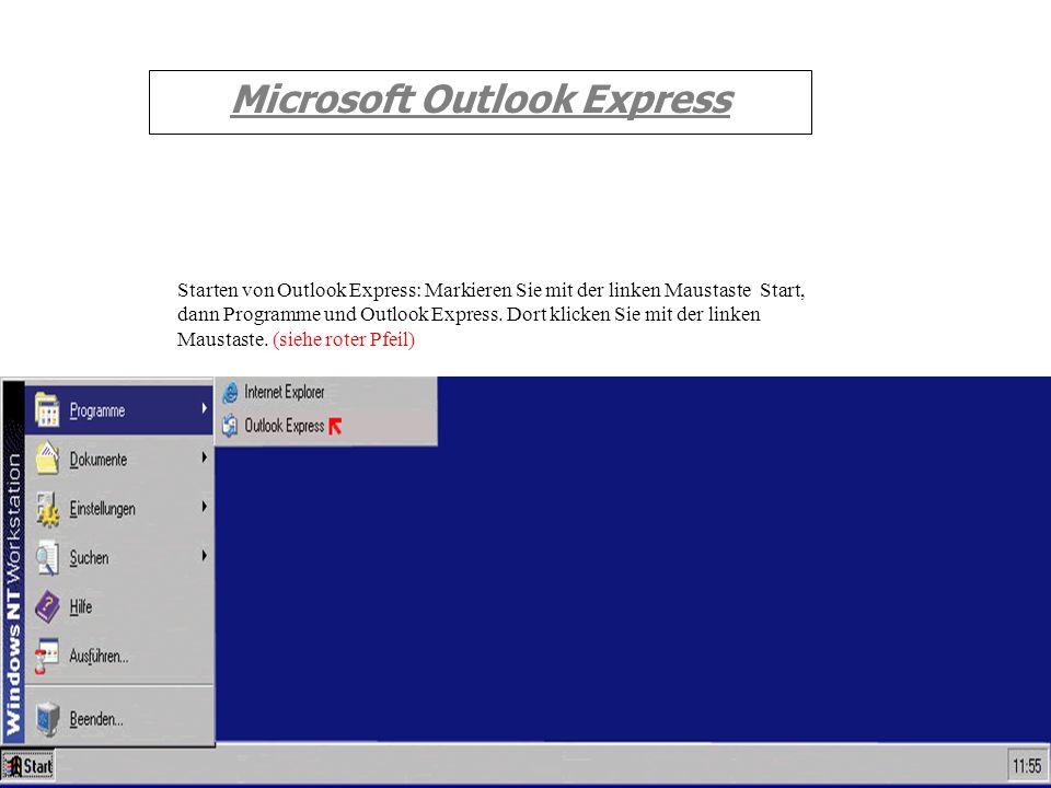 Microsoft Outlook Express zur Einführung von Microsoft Outlook Express. Willkommen Erstellt von IT-Intern