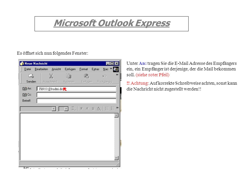 Microsoft Outlook Express 1.