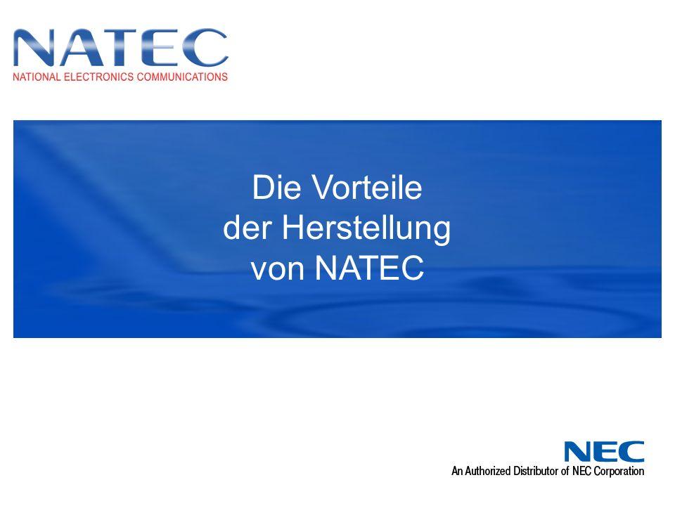 Die Vorteile der Herstellung von NATEC