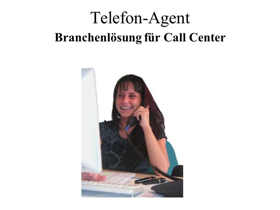 Telefon-Agent Branchenlösung für Call Center