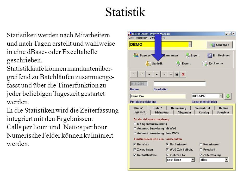 Beispiel Die Antwort auf die zweite Frage eines Fragenkataloges soll in ein Datenfeld namens Modus vom Typ Zeichen geschrieben werden. Es stehen vier