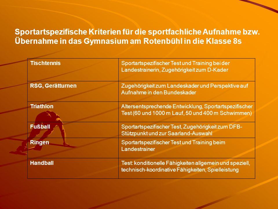 Richtwerte Leichtathletik Folgende Mindestleistungen in zwei Disziplinen sind bis Ende Juli 2014 zu erfüllen.