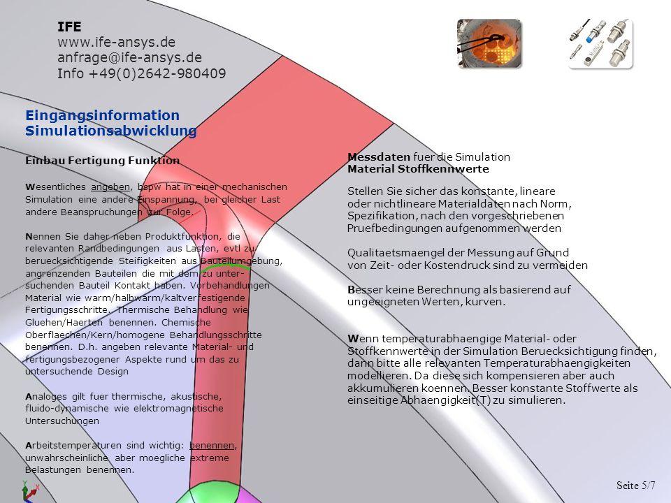 Betrachtung Simulationsergebniss Korrelation Versuch-Simulation Analysereport lesen Nehmen Sie den Report wie gegeben.