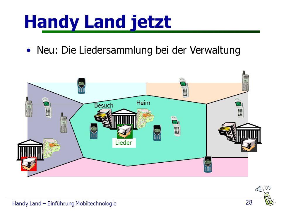 28 Handy Land – Einführung Mobiltechnologie Handy Land jetzt Heim Besuch Lieder Neu: Die Liedersammlung bei der Verwaltung