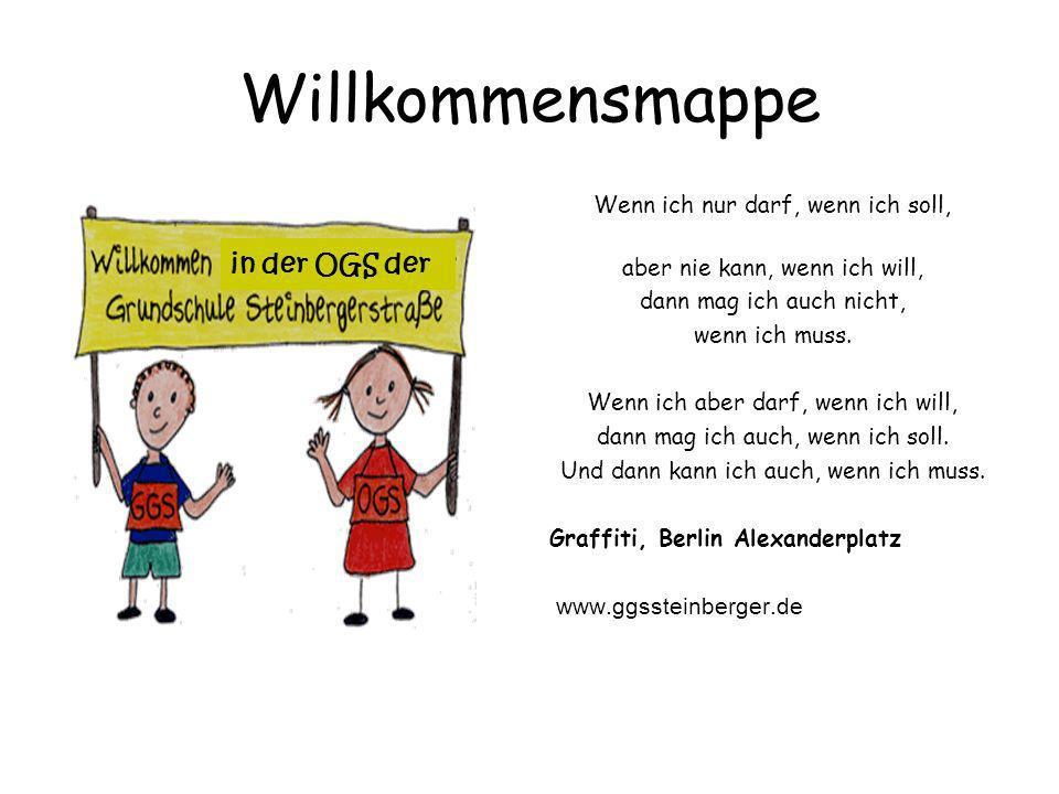 Herzlich Willkommen in der Grundschule Steinbergerstraße, Köln- Nippes.