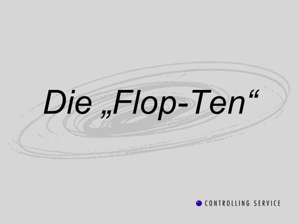 Die Flop-Ten