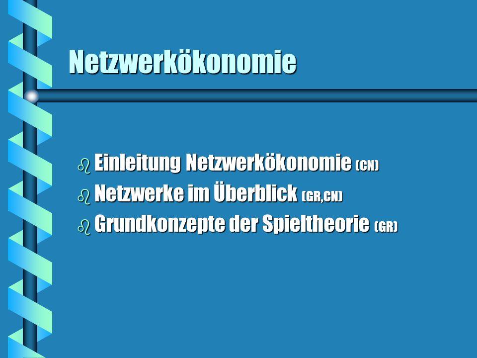 Netzwerke im Überblick - Beispiele b Luftfahrtindustrie CharakteristikaCharakteristika Netzwerkstrukturen: z.B.