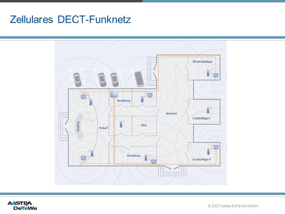 © 2007 Aastra DeTeWe GmbH. Zellulares DECT-Funknetz