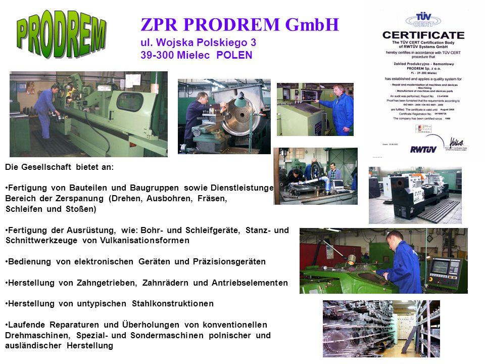 ZPR PRODREM GmbH ul.